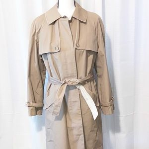Vintage Trench Coat by International Classics Tan